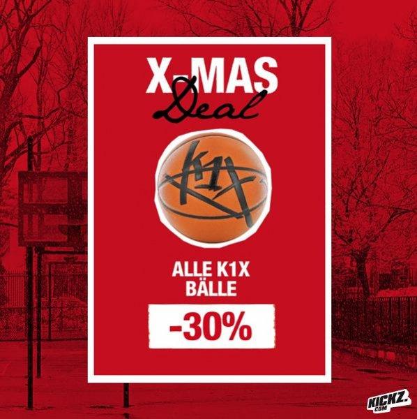 -30% auf alle K1X Bälle bei Kickz
