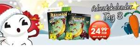 [Gamestop] Nur heute online und in den Filialen in DE/AT/CH - Amazon.de zieht auch mit - Rayman Legends (X360/PS3) für 24,99 Euro inkl. Versand und deutscher Sprachausgabe