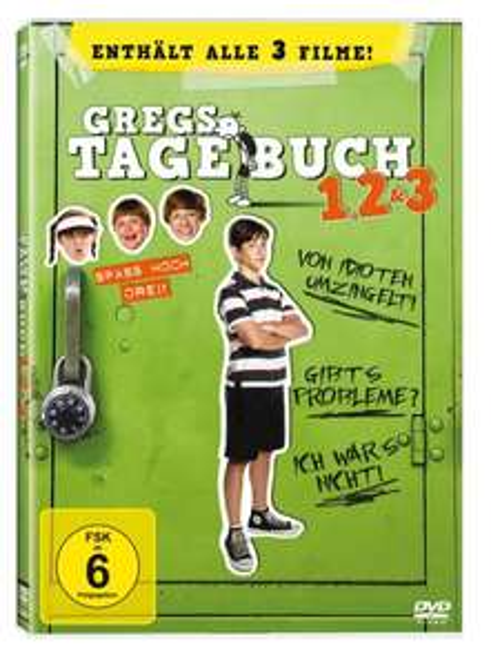 Gregs Tagebuch 1, 2 & 3 [3 DVDs] @ amazon
