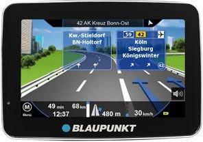 """[Conrad.de] Blaupunkt TravelPilot 40CE Navigationsgerät 10.9 cm 4.3 """" Zentraleuropa"""