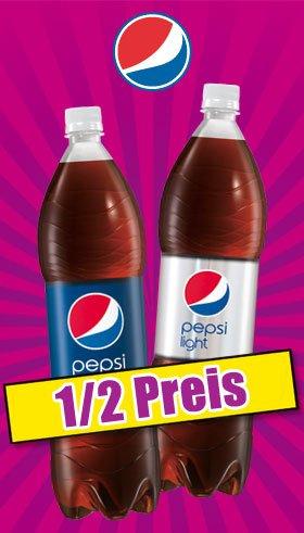 Pepsi/Pepsi light 1,5l für 0,47€ bei Norma Lebensmittel Discounter