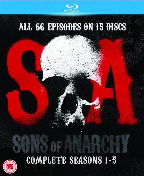 [Amazon.co.uk] Sons of Anarcy Staffel 1-5 [Blu-Ray;O-Ton]