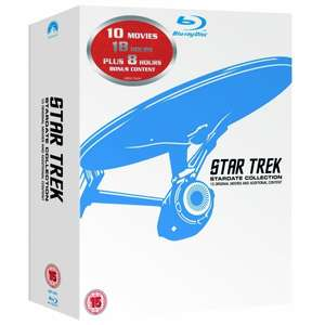 [amazon.co.uk] Star Trek - The Movies 1-10  Blu Ray Box
