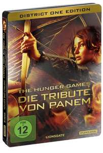 The Hunger Games, District One Edition, Steelbook, 2 Discs, inkl. einer Kinokarte für Catching Fire)