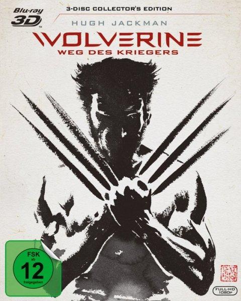 [Cede.de] [Bluray / 3D BD] Wolverine - Weg des Kriegers (Extended Cut, 3D+2D Blu-ray, 3 Discs)