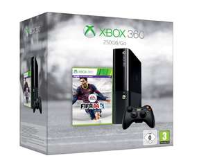 XBOX 360 (neues Design) 250 GB + Controller + FIFA 14 für 169€ @Amazon