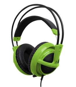 SteelSeries Siberia v2 Gaming Headset Grün im Amazon Adventskalender