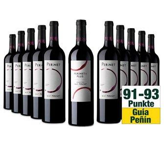 Testsieger Priorat: 10er Wein-Paket + 1 Xtra-Flasche Mas Perinet Plus