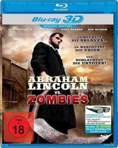 Abraham Lincoln vs. Zombies (Blu-ray 3D) für 2€ @Müller