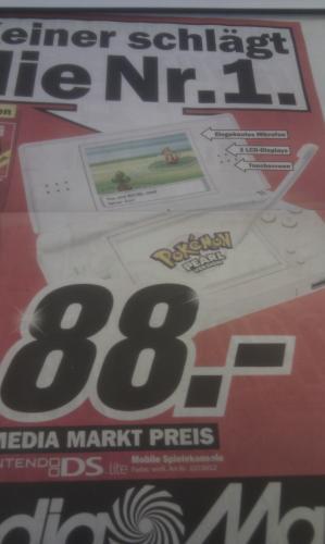 Nintendo DS Lite | MediaMarkt (Lokal? Oldenburg?) 88Euro