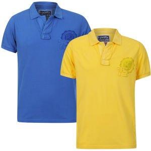 2 Polo Shirts Loyalty & Faith Blau + Gelb für 6,19 EUR inkl. Versand