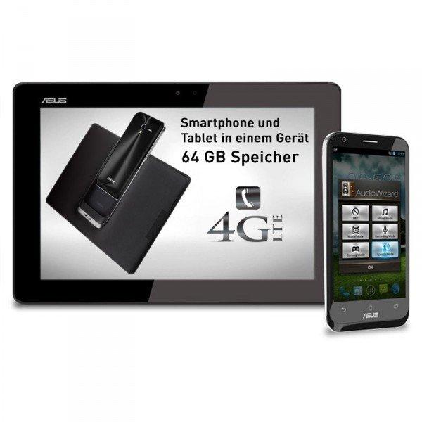 Asus Padfone 2 64GB mit Tablet für 349€