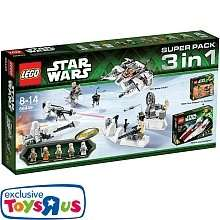 [TOYS 'R' US] LEGO Star Wars - 66449 Super Pack 3 in 1 (75000 + 75003 + 75014)