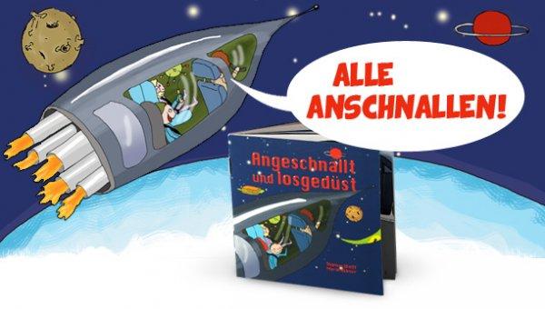 """""""Angeschnallt und losgedüst"""" kostenloses Kinderbuch inkl. Versand von Britax-Römer"""