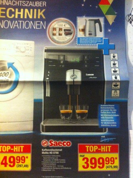 [offline] Saeco Moltio HD 8766 + Saeco Milchaufschäumer in der Metro statt 612,99€