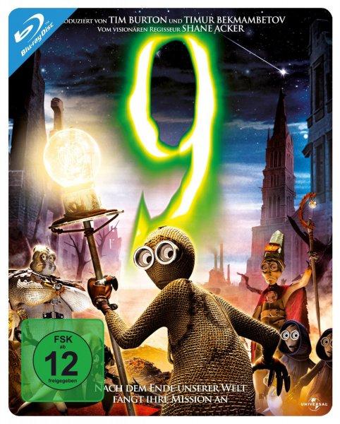 9 und Das Ding aus einer anderen Welt Steelbook [Blu-ray] für je 5 € - LEIDER SCHON AUSVERKAUFT