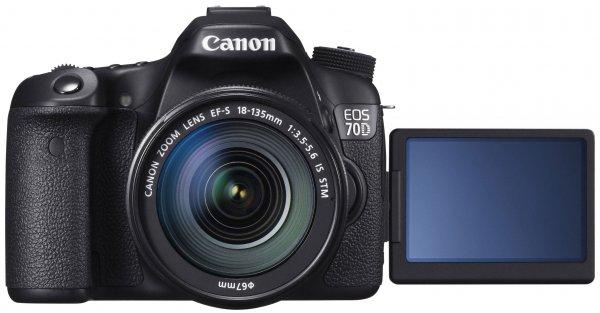 CANON EOS 70D + 18-135 IS STM für 1199€ +4,99 VSK