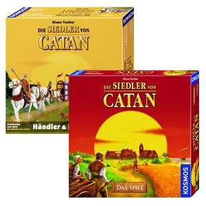 Die Siedler von Catan - Das Spiel + Erweiterung Händler & Barbaren