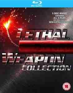 Lethal Weapon Collection (Bluray-Box 4 Discs) für 10,80€ @Zavvi