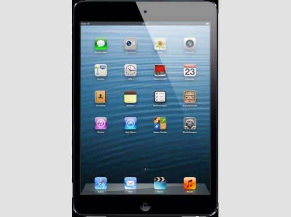 iPad mini mit Wi-Fi 64GB schwarz [375 € @ mediamarkt.de VSK-frei]
