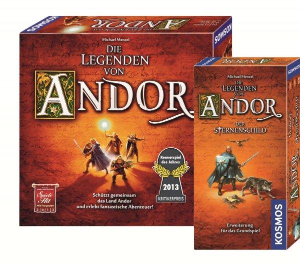 Die Legenden von Andor + Erweiterung Der Sternenschild für nur 20,48€ @ myToys