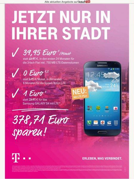 Complete M 39,95 mit Galaxy S4 LTE
