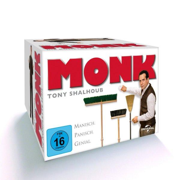 Monk - Die komplette Serie (32 Discs)  für 54,97 €