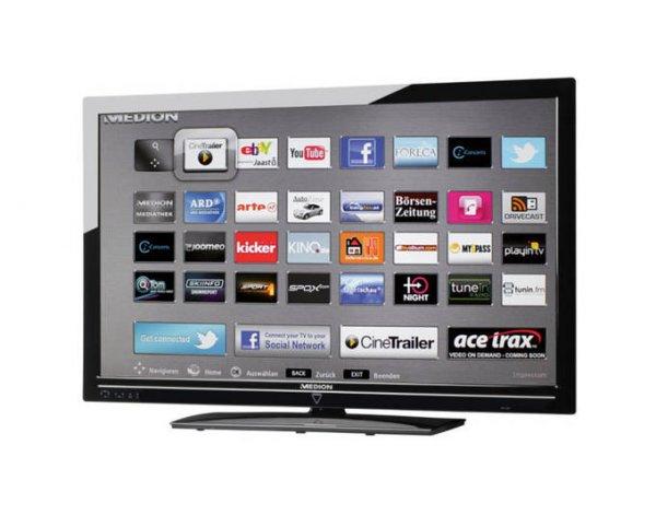 "Medion™ - 42"" LED-Backlight Fernseher ""LIFE P17074 (MD 30630)"" (Full HD,Triple-Tuner,100Hz,4xHDMI,HbbTV) [B-Ware] ab €359,10 [@MeinPaket.de]"