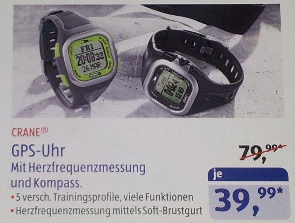 GPS / Fitness Uhr @Aldi Süd Dietzenbach für 39,99 €