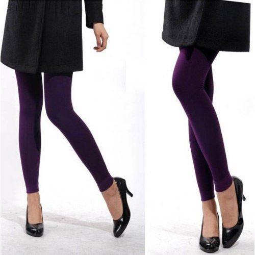 Damen Winter Warm Leggings Thermo Leggings Hose 7 Farbe