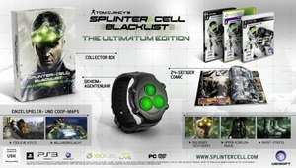 [Amazon Adventskalendar] Tom Clancy's Splinter Cell Blacklist - Ultimatum Edition (exklusiv bei Amazon.de) PS3, Xbox360, PC