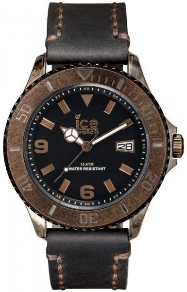 Ice Watch Vintage Schwarz-Bronze mit Lederarmband
