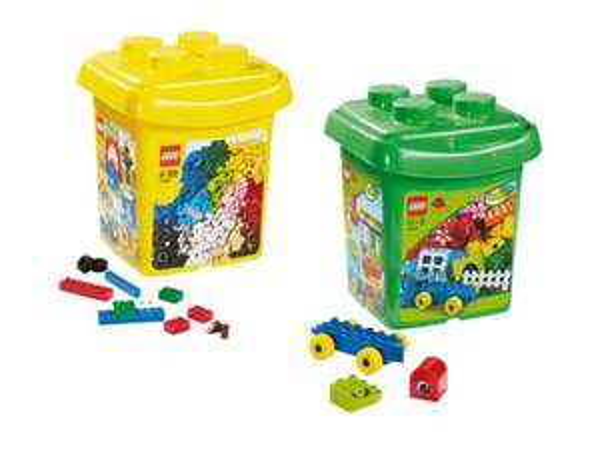 LEGO Bausteine-Eimer 10662 und 10555 bei LIDL [online und offline]