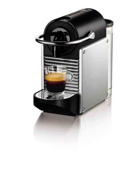 (Amazon) DeLonghi EN 125.S Nespresso Pixie Electric Aluminium + 60€ Nespresso Club Gutschein für 89,00€