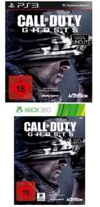 Call of Duty Ghosts (PS3/360) Standard Edition deutsch für 33 Euro / Hardened Edition 65 Euro / zzgl. 6 Euro Versand