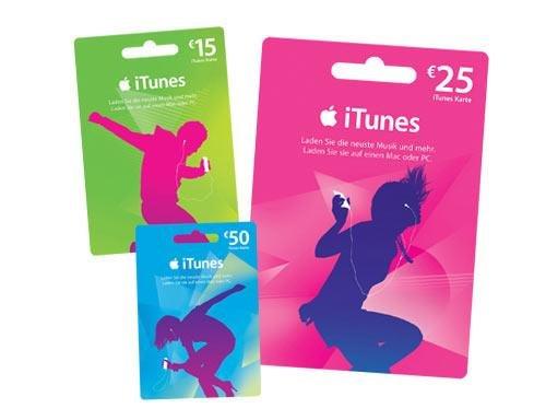 20% auf iTunes Karten