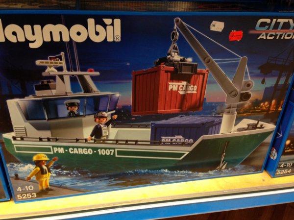 [LOKAL BERLIN] Playmobil Frachter 5253 für 19€