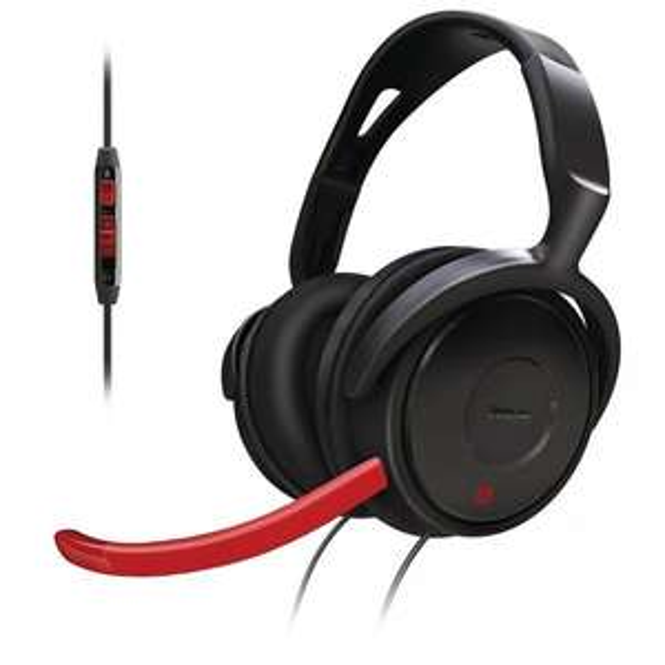[WHD] Philips SHG7980/10 Gaming-Bügelkopfhörer inkl. mini-Mikrofon schwarz/rot  für 5,21€