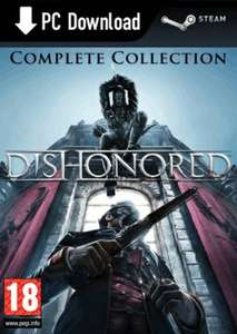 [Steam] Dishonored Complete Collection @game.co.uk