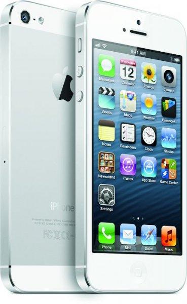Apple iPhone 5 64GB in schwarz oder weiß für 589,90€ @ MeinPaket