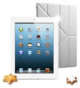 Apple iPad 4 LTE in weiß mit kostenlosem Case