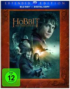 [Amazon] Der Hobbit Extended Edition (3 Discs) [Blu-ray] für 19,97 (5 BluRay für 29,99€) / (5 DVD für 14,97€)