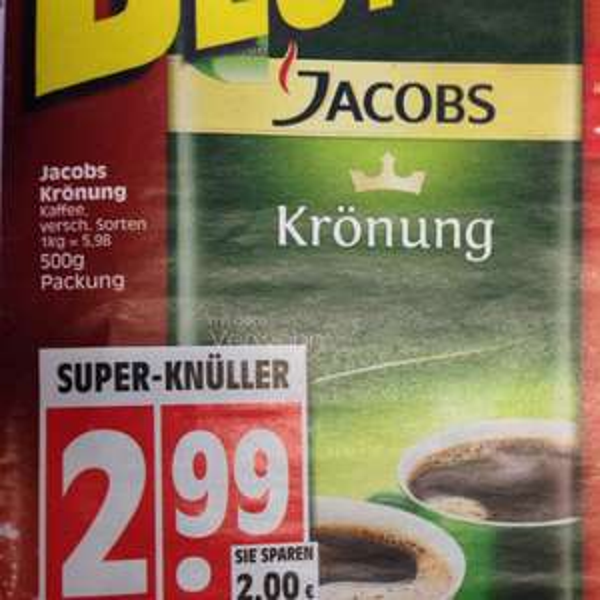 Jacobs Krönung @ Edeka Minden-Hannover (Bundesweit?)