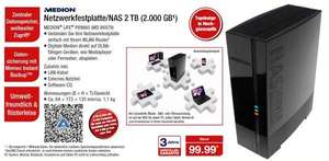 2TB NAS Medion Life P89660 (MD86979) bei Aldi-Nord