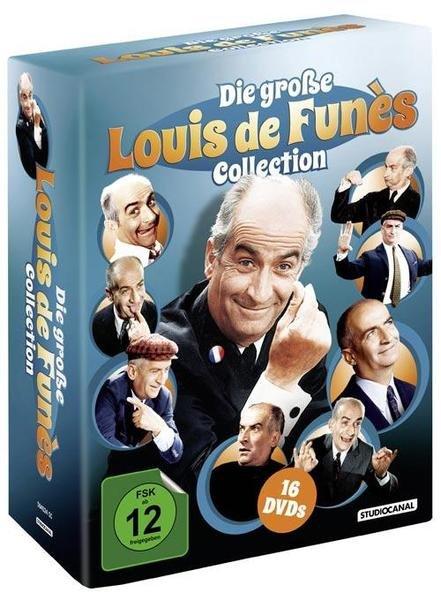 [Buch.de] Die große Louis de Funès Collection, 16 DVDs o. Vsk für 40,88 €
