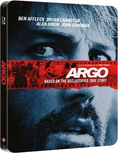 Blu-ray - Argo (Limited Edition Steelbook) für €8,34 [@Zavvi.com]