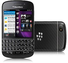 BlackBerry Q10 black neu ohne Vertrag 429,95€ - T-mobile online und offline im T-Punkt