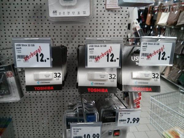 [Lokal - Kaufland Berlin] 32 GB Toshiba Usb-Stick für 12€
