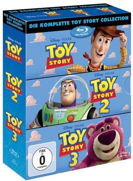 Toy Story Trilogy für 11,90€ (DVD) oder 20,40€ (Bluray) bei BOL
