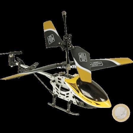 """Helikopter """"IX VIII O VIII"""" (gelb) wieder verfügbar"""
